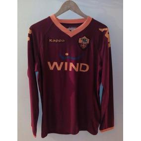 Camisa De La Roma Kappa en Mercado Libre México fb0c1e563f554