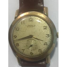 dc1447e1ed8 Relogio Lincoln Antigo - Relógios no Mercado Livre Brasil