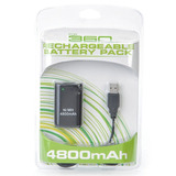 Pack Recargable Bateria Xbox 360 Ni Mh Usb Control