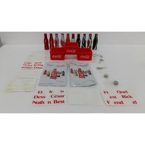 Mini Garrafinhas Coca Cola Galera Engradado Coleção Kit 10un