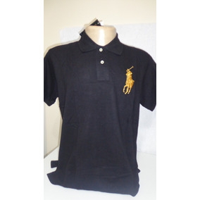 39065ef7f9c78 Camisa Polo By Ralph Lauren Amarelo Tam Ggg-gg-g-m-