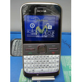Celular Nokia E5 (movistar) Color Plata/blanco (vintage)