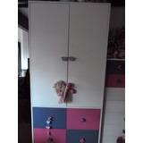 Mueble Infantil Bebe Placard Ropero Laqueado Dormitorio