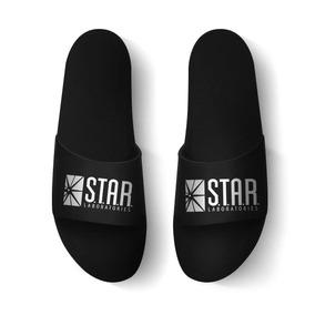 sneakers for cheap e48e5 614af Chinelo Slide Laboratórios Star Lançamento Super Promoção