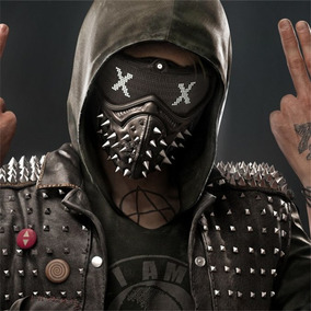 Máscara Cosplay Watch Dogs 2 Terror Assassino Wrench Rave