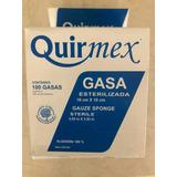 Gasa Estéril Quirmex 10 X 10 Cm 100 Piezas