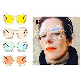 Solar Espelhado Aste Rosa Prada - Óculos no Mercado Livre Brasil 5984ff80a3