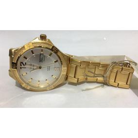 02b54df7ae2 ... Pulseira Dourado Fundo Amarelo Promoção. Paraná · Relógio Vip Mh-6340-1  Promoção Original Novo Nota Fiscal