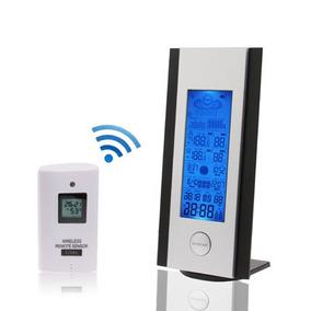 Reloj Alarma Multifuncion 5,4 Pantalla Lcd Wetterstation