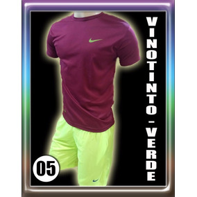 Juego Nike Deportivo Franela Short Caballero