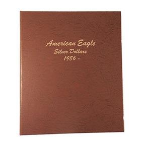 Dansco Unidos De América Silver Eagle Coin Álbum De 1986 Has