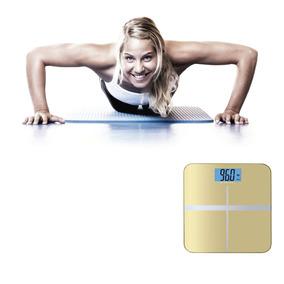 Balanza Digital De Vidrio Templado Control De Peso 180kg
