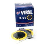 Remendo Para Câmara De Ar R-03 Com 40 Unidades - Vipal