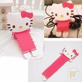 Porta Cable De Hello Kitty