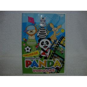 Dvd Original O Melhor Da Banda Do Panda- Videoclips