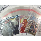 50 Bolsas Y 50 Cartones Protectores Para Comics Tamaño Grapa