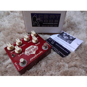 Pedal Super Signa Drive Cmatmods Usa Overdrive Boost Top