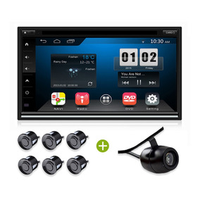 Estereo Pantalla Caska Universal Doble Din Android Gps Dvd