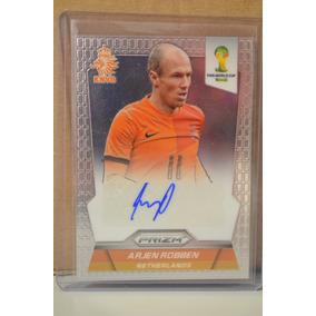 Cards Copa 2014 Prizm Autografado Arjen Robben - Holanda