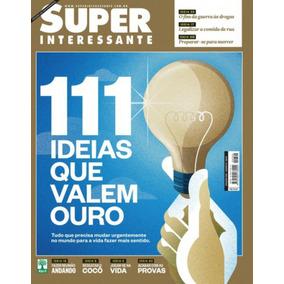 Box 4 Revistas Super Interessante Com Pôster