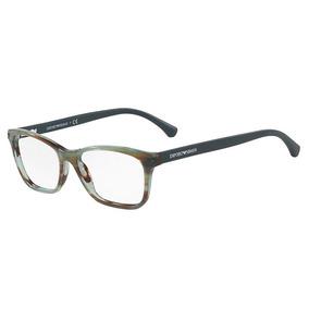 Armacao De Oculos Verde Armacoes Armani - Óculos no Mercado Livre Brasil 9636908922