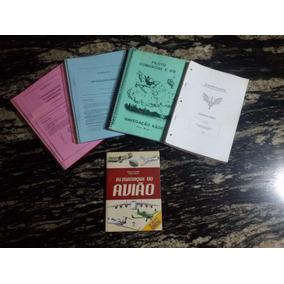 Kit De Apostilas Da Aviação, Mais Livro Almanaque Do Avião