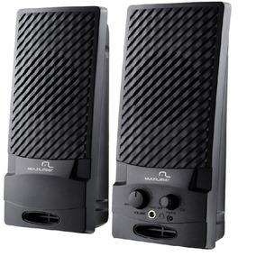 Caixa Som Speaker 2.0 Mod. 003 Preto Usb Multilaser