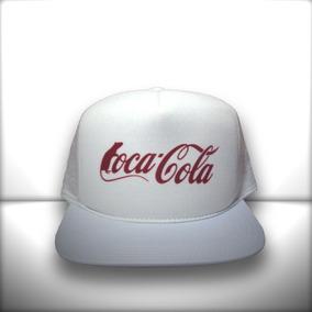 6ba3e7c958716 Bone Coca Cola Aba Reta - Acessórios da Moda no Mercado Livre Brasil