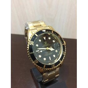 888847913f7 Rolex Daytona Aço Fundo Preto Replica De Luxo - Relógios De Pulso no ...