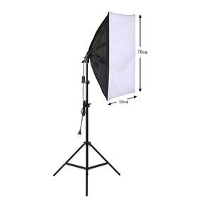 Estudio Fotografico Soft Box Profissional Luz Continua E27