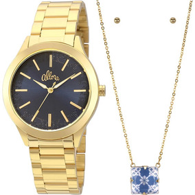 80debd88665 4x Fashion Relogio Allora Feminino Al2035cz - Relógios De Pulso no ...