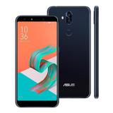 Smartphone Asus Zenfone 5 Selfie Pro Preto 128gb Tela 6.0 4g
