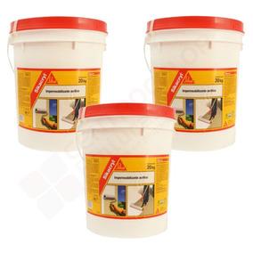Sikacryl Membrana Liquida 20 + 20 + 20 Kgs. Colores.