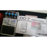 Pedal Delay Boss Dd7 Y Tap Tempo