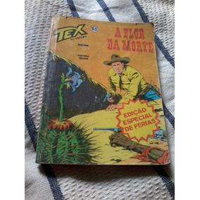 Tex N. 65 2a Edição Ed. Vecchi A Flor Da Morte