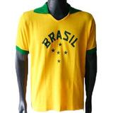 Camisa Retrô Brasil 1952 Olimpíadas Feminina - Baby Look 3c38b9f18d9fc