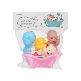 Juguete Mumuso Para Bebé Animales Aquáticos Con Bebé