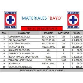 Precio de tonelada de cemento cruz azul construcci n en for Precio del mercado de concreto encerado