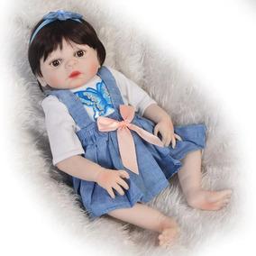 Boneca Bebe Reborn 48cm Corpo Silicone 5 Modelos Escolha!!