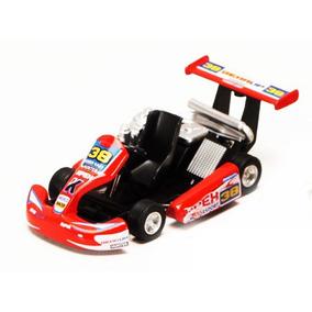 Kart Turbo Kins Fun Ks 5102 Carro De Corrida Metal Formula 1