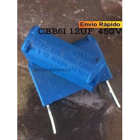 Capacitor 1,2uf Cbb61 450vac 450v Bm Ar Split Inverter