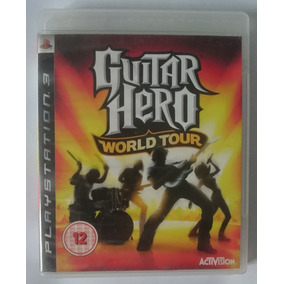Guitar Hero World Tour - Ps3 - Midia Fisica