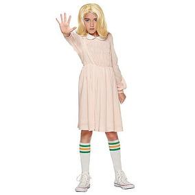 Disfraz Niña Eleven Traje Stranger Things Halloween
