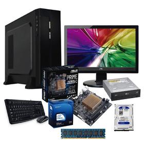 Computadora Intel J3355 Dual Core 2.5 4gb, 500gb, Dvdrw ,15