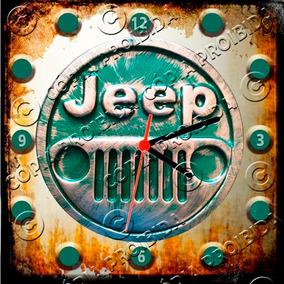 fe1e0723406 Relógio Vintage King Mdf 27x27 Jeep Cloqbc.0290 · R  29 98