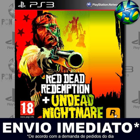 Red Dead Redemption + Undead Nightmare Ps3 Mídia Digital Psn