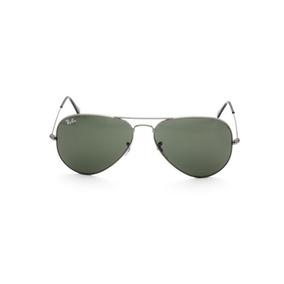 d6bc5552b2a56 Oculos De Sol Ray Ban 3025 Aviator Grafite Lente Verde G15 - Óculos ...