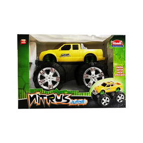 Juguete Camioneta Monster Nitrus Junior Usual Brinquedos
