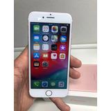 Iphone 7 32gb Rosa Seminovo Com Caixa E Carregador Original