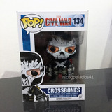 Funko Pop! Crossbones #134 (vaulted) Civil War Marvel